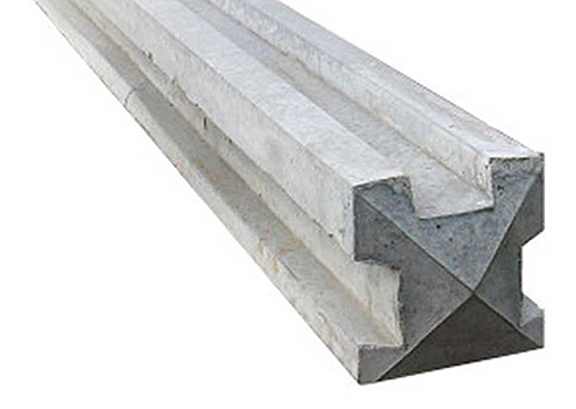 concrete supply only: 3 way concrete post