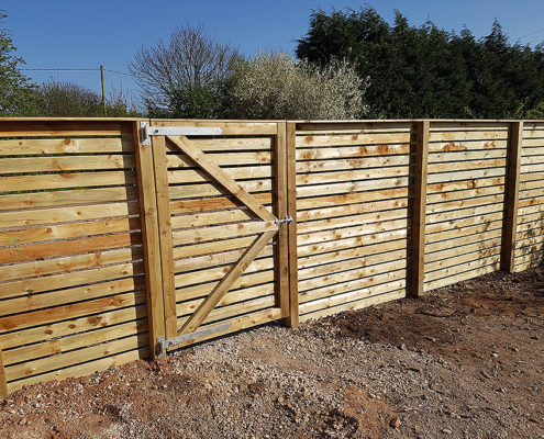bespoke fencing for new builds 02 tatton fencing