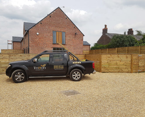 bespoke fencing for new builds 09 tatton fencing