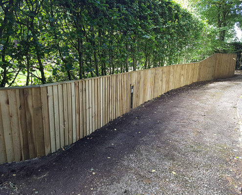continuous featherboard 10 tatton fencing