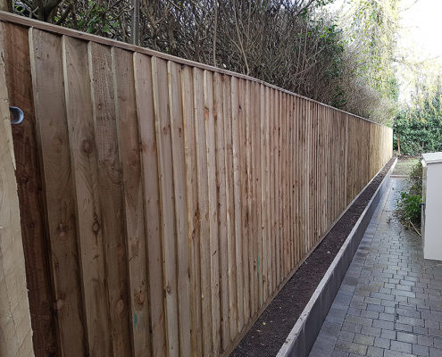 continuous featherboard 20 tatton fencing