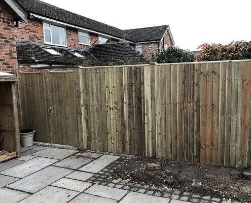 continuous featherboard 25 tatton fencing