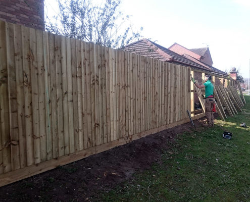 continuous featherboard 35 tatton fencing