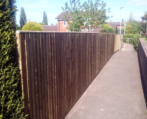 continuous featherboard 38 tatton fencing