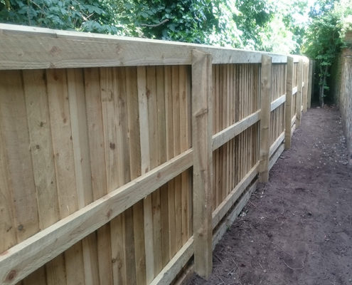 continuous featherboard 39 tatton fencing