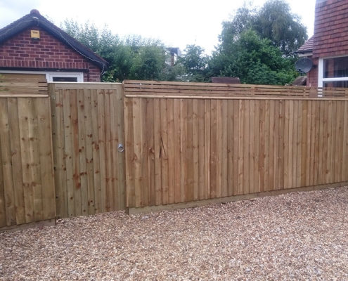 continuous featherboard 40 tatton fencing