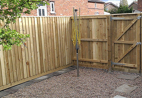 continuous featherboard 45 tatton fencing