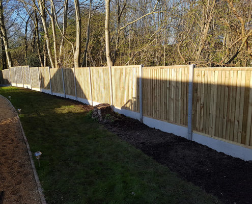 featherboard panels concrete post and panel 01 tatton fencing