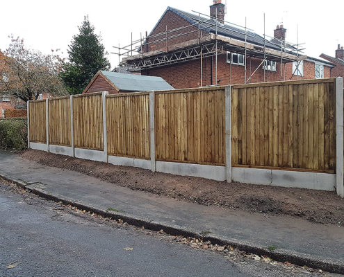 featherboard panels concrete post and panel 05 tatton fencing