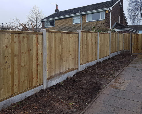 featherboard panels concrete post and panel 08 tatton fencing