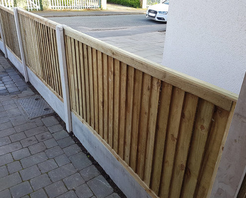 featherboard panels concrete post and panel 11 tatton fencing