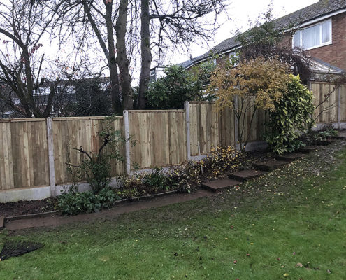 featherboard panels concrete post and panel 16 tatton fencing