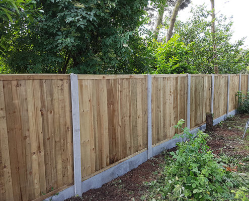 featherboard panels concrete post and panel 17 tatton fencing