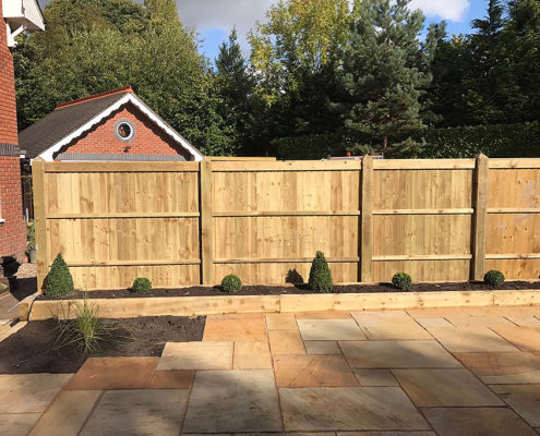 featherboard panels timber post 17 tatton fencing