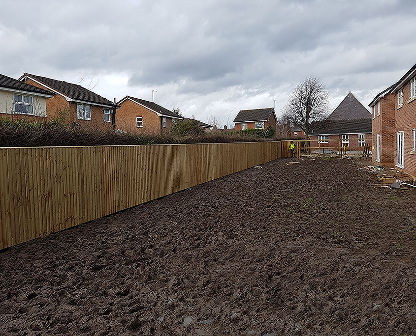 fencing for housing developments 01 tatton fencing