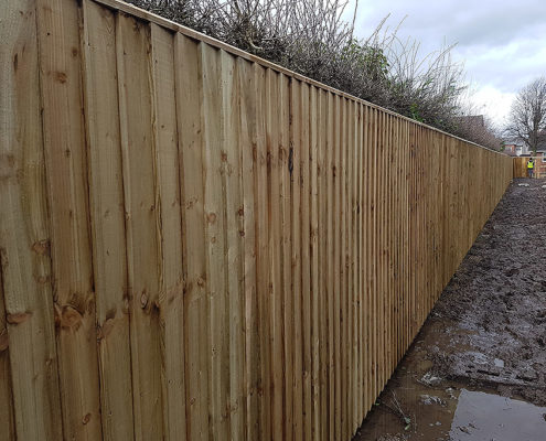 fencing for housing developments 02 tatton fencing