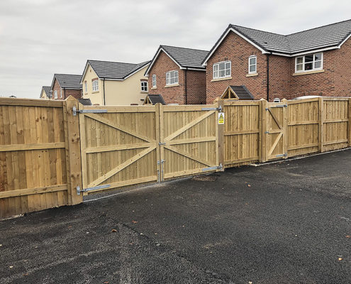 fencing for housing developments 09 tatton fencing