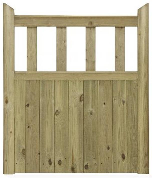 gates supply: gate side