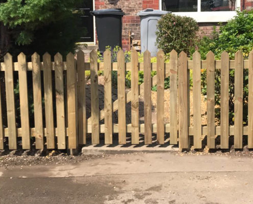 picket gate 13 tatton fencing