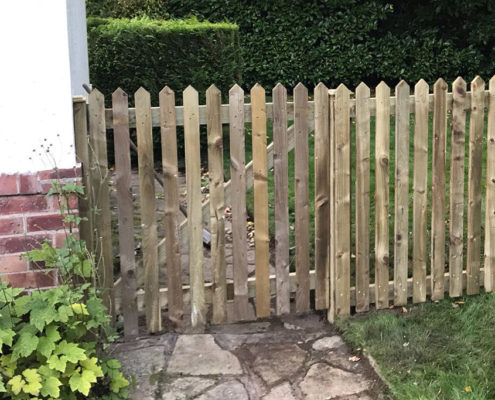picket gate 14 tatton fencing
