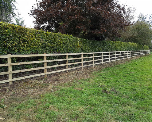 post and rail 05 tatton fencing