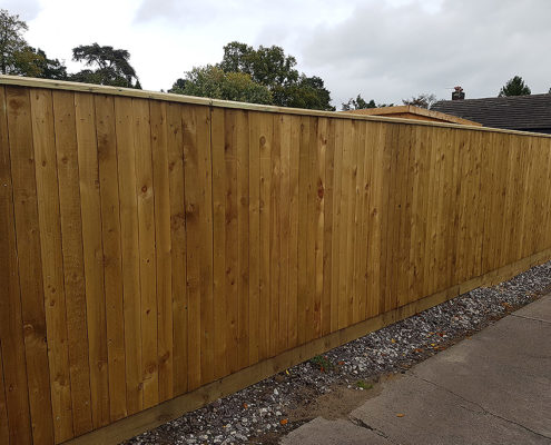 solid board fencing 03 tatton fencing