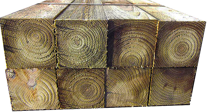 timber supply only: timber 100x100mm