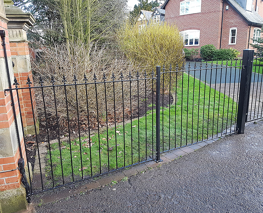 wrought iron fencing 01 tatton fencing